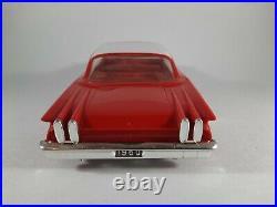 Vtg Red & White AMT Ford Edsel Ranger 1960 Friction Promo Plastic Car